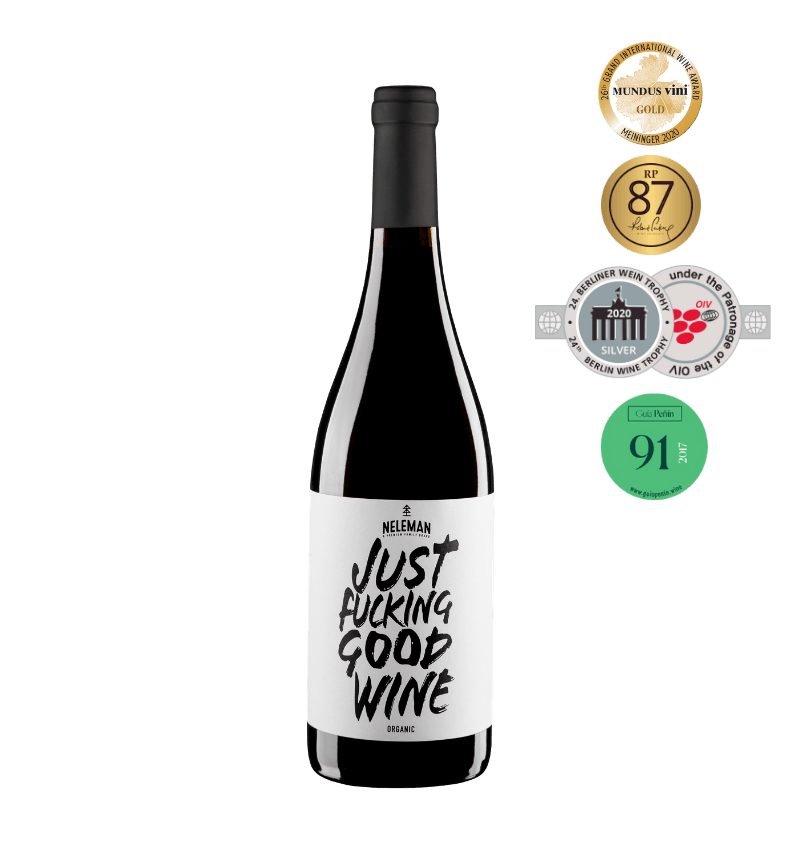 Just Fucking Good Wine Rood Organic (1 Fles)