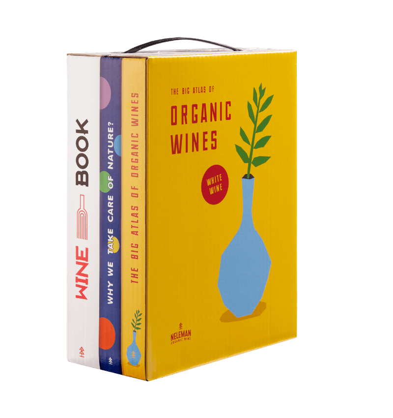Wine-In-Books Macabeo Viognier Organic